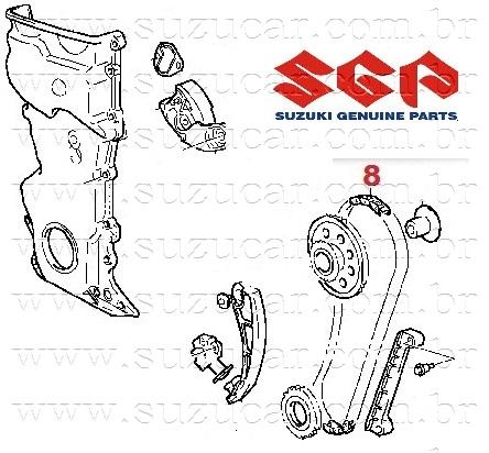 Corrente Principal GM-TRACKER/G.VITARA 2.0 16V (Original)