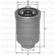 Filtro de Combustivel GM-TRACKER 2.0/G. VITARA 2.0 8V - DIESEL RF