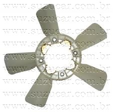 Hélice do Radiador Suzuki VITARA 1.6/SAMURAI 1.3 (INJEÇÃO)