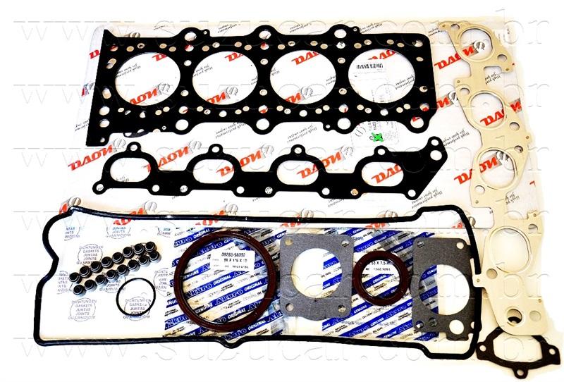 Jogo de Juntas do Motor COMPLETO  Suzuki GM-TRACKER GASOLINA/GRAND VITARA 2.0 16V ATÉ 2004