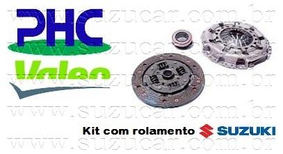 Plato e Disco de Embreagem GM-TRACKER/GRAND VITARA 2.0 16V Até 2005 C/ ROLAMENTO ORIGINAL