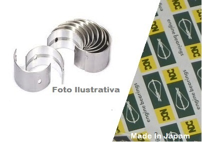 Jogo de Bronzina de Mancal VITARA/G.VITARA 1.6/BALENO (0.50mm)