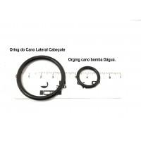 Oring do Cano de agua + Cano da Bomba GM-TRACKER/G.VITARA 2.0 16V (lateral Cabeçote + Bomba)