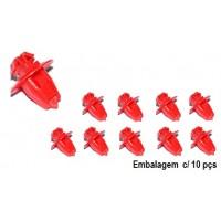 Presilha do Aplique Lateral Externo GM-TRACKER/G.VITARA - Todos(Embalagem c/ 10 Peças)