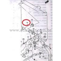 Mangueira Superior do Radiador G.VITARA V6 2.5/2.7 24 valvulas (Original)
