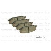 Jogo de Pastilha de Freio dianteira Suzuki JIMNY/SAMURAI 1.3 8V - (Importada)