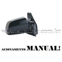 Retrovisor Direito MANUAL Dobravel Suzuki VITARA 1.6