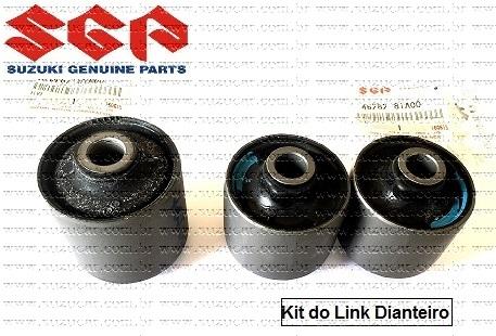 Kit de Buchas do Link (braço) Dianteiro Suzuki JIMNY 1.3 16V APÓS 2005